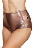 Rose Gold High Waisted Hot Pants