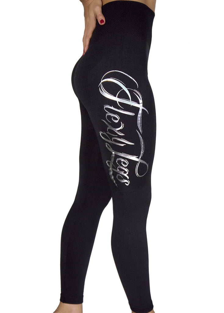 Flexy Legs Leggings (Metallic)