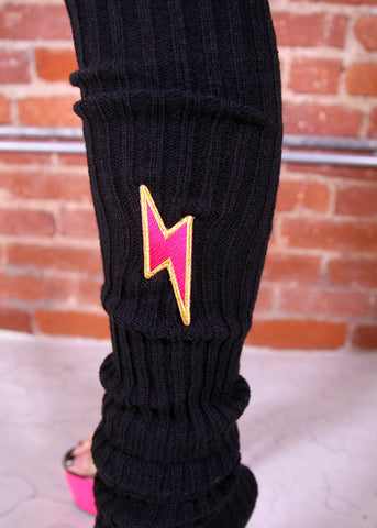 Lightning Bolt Leg Warmers