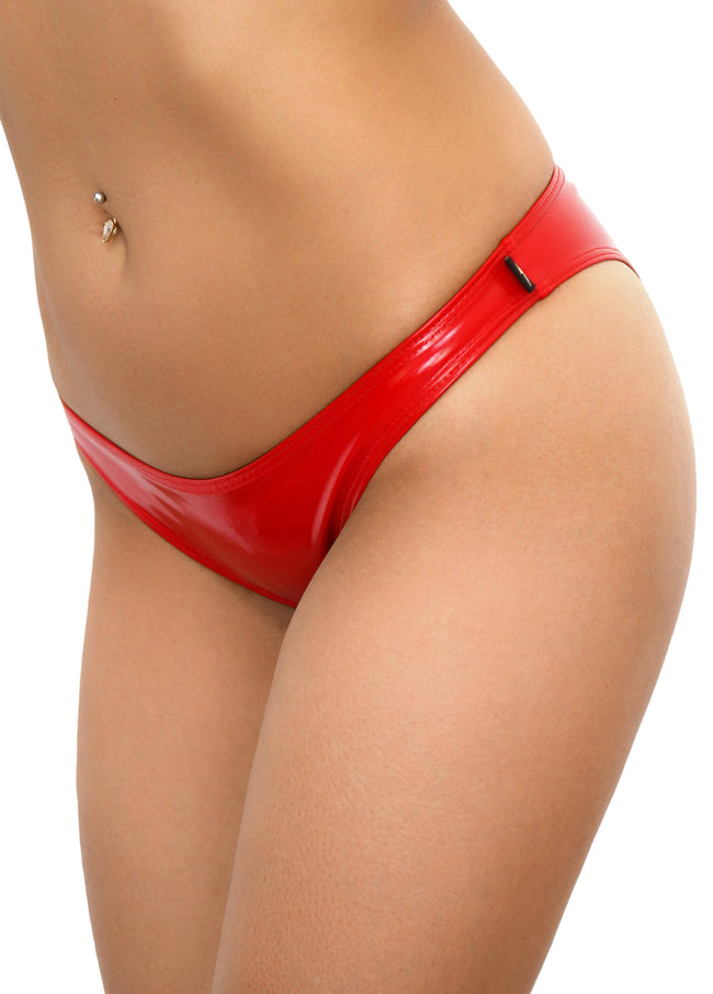 Red Heroine Liquid Scanty Pants