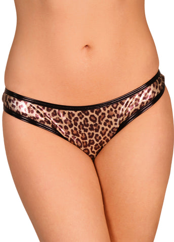 Leopard Skimpy Hot Pants