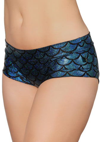 Sonic Siren Metallic Hot Pants - Various Colors