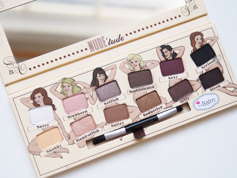PALLETTE OMBRES A PAUPIERES NUDE TUDE