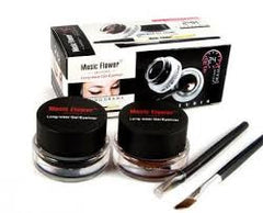 Duo eye liner  noir et brun music flower