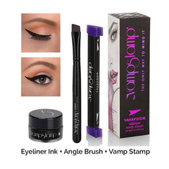 Vamp Stamp , ensemble etampe a eye liner