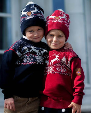 Dale of Norway - Christmas Kids' - Red