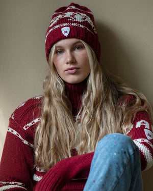 Dale of Norway - Isbørn Hat - Ruby
