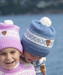 Dale of Norway - Cortina Kids Hat - 4-8 Blue