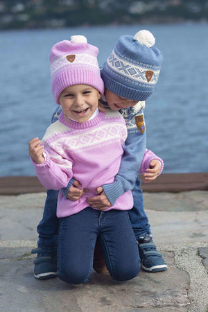 Copy of Dale of Norway - Cortina Kids Hat - 4-8 Pink