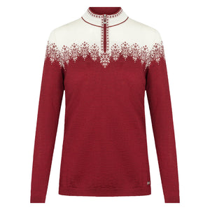 Dale of Norway - Snefrid Sweater - Ruby
