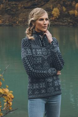 Dale of Norway - Peace Women's Sweater - Navy