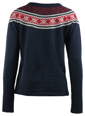 Skhoop - Greta Sweater - Navy