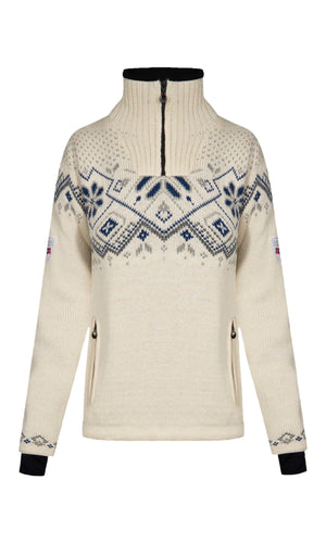 Dale of Norway - Norge Women's Sweater - Light Navy
