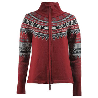 Skhoop - Scandinavian Zip Sweater - Red