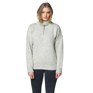 Devold - Nansen Unisex Sweater Zip Neck - Grey