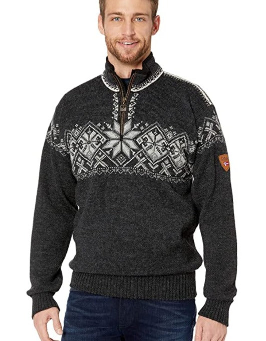 Dale of Norway -  Geiranger Unisex Sweater - Charcoal