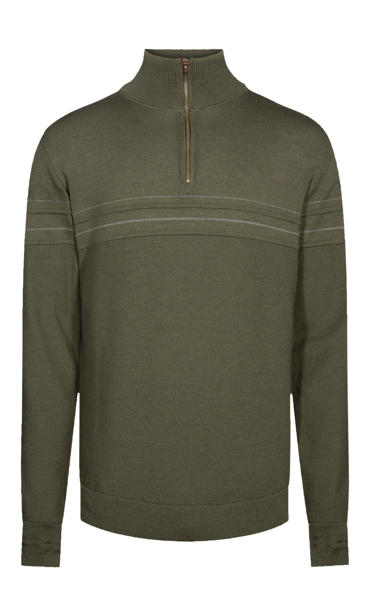 Dale of Norway - Syv Fjell Men's half zip Sweater - Green