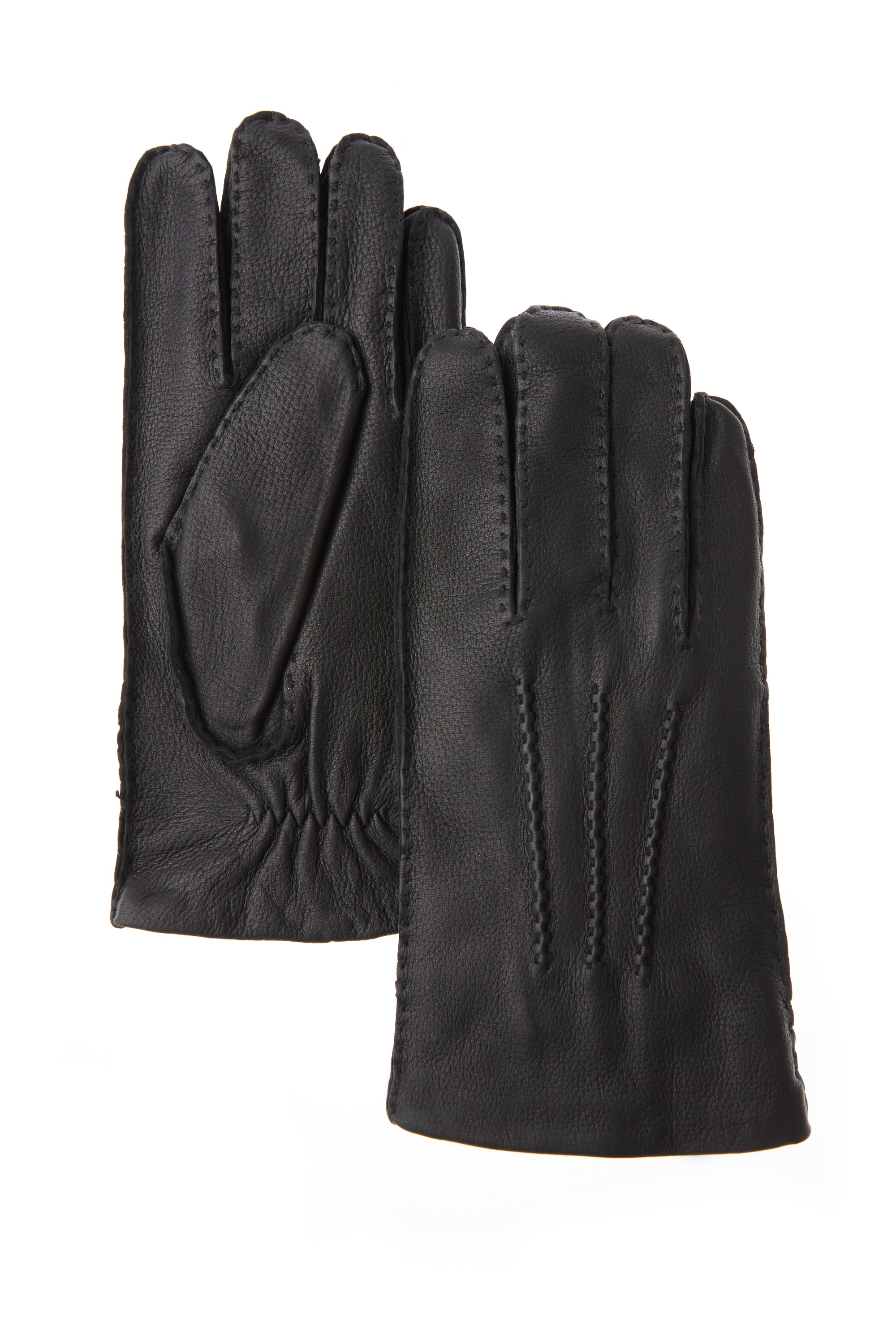Brume - Men's Caribou Deerskin Glove - BLACK