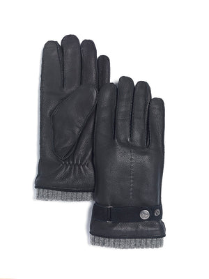 Brume - Hudson Deerskin Men's Gloves - Black
