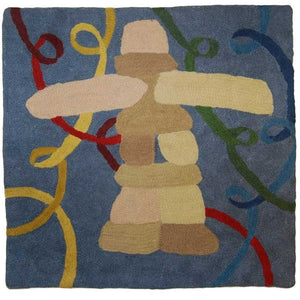 Irene Klar - Inukshuk - Cushion Cover