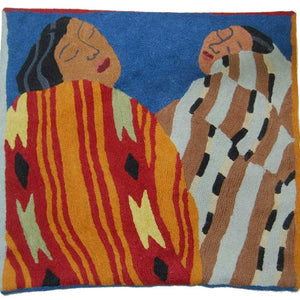 Irene klar - Two Sisters - Cushion Cover