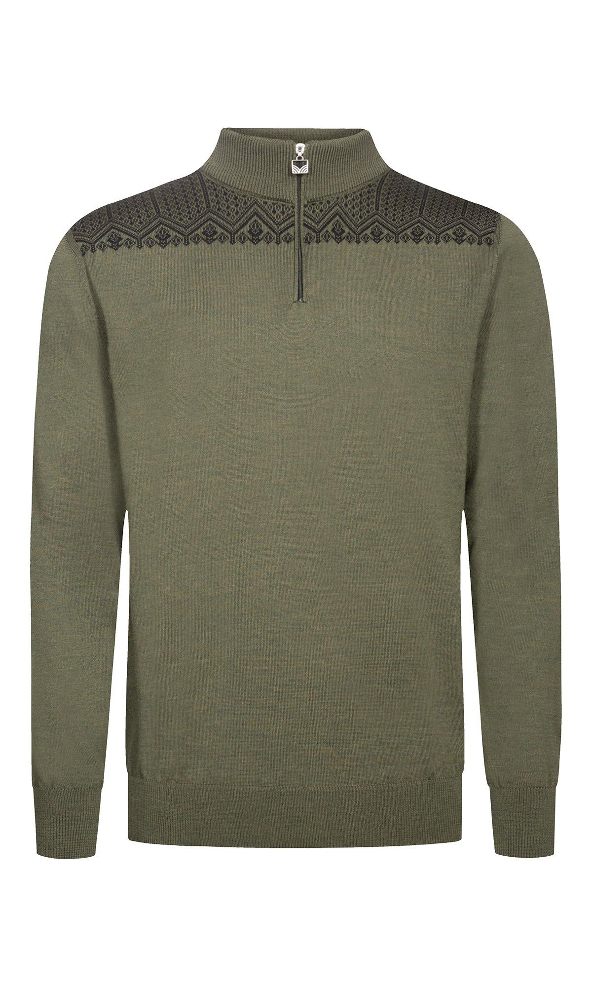 Dale of Norway - Eirik Men's Sweater - Dark Green