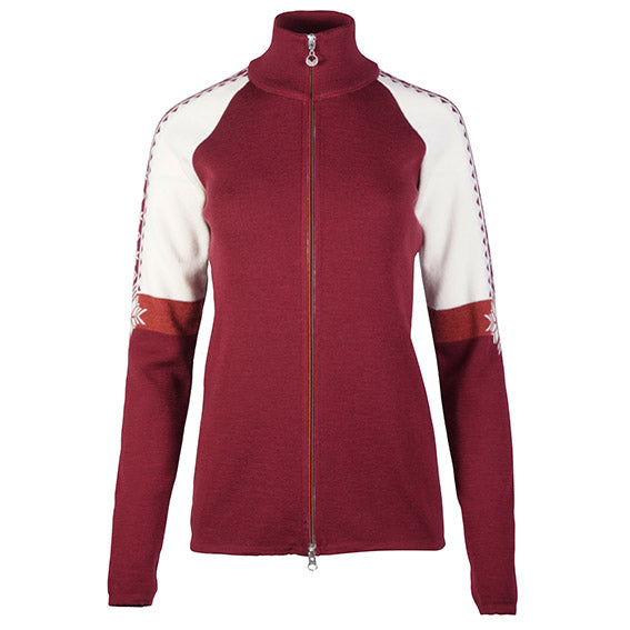 Dale of Norway - Geilo Women's Jkt - Ruby