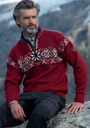 Dale of Norway - Geiranger Unisex Sweater - Red