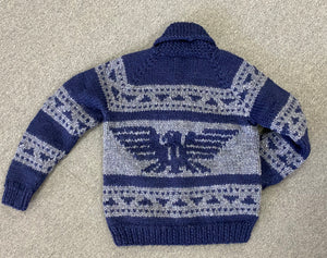 Cowichan Sweater - Navy Raven Design