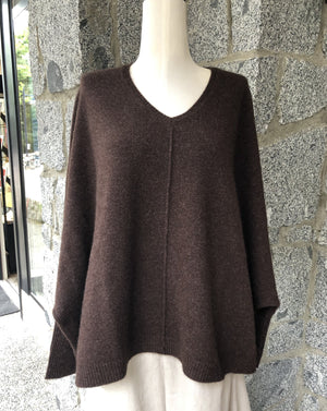 Mansted - Zorro Yak Sweater - Brown