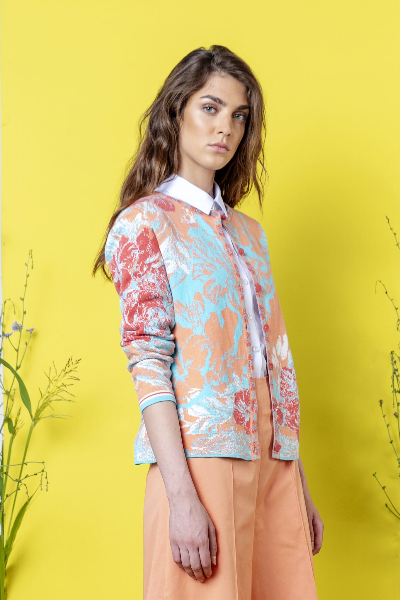 Ivko - Button Cardigan - Pastel