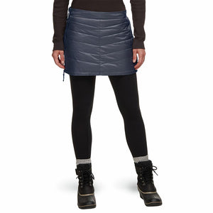 Skhoop - Mini Down Skirt - Navy