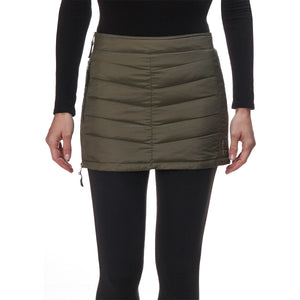 Skhoop - Mini Down Skirt - Olive