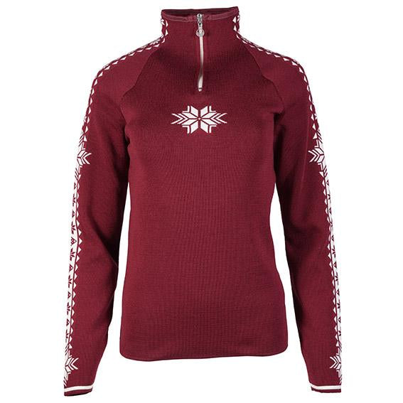 Dale of Norway - Geilo Women's Sweater - Ruby