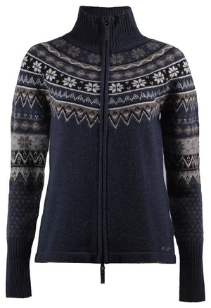 Skhoop - Scandinavian Zip Sweater - Navy