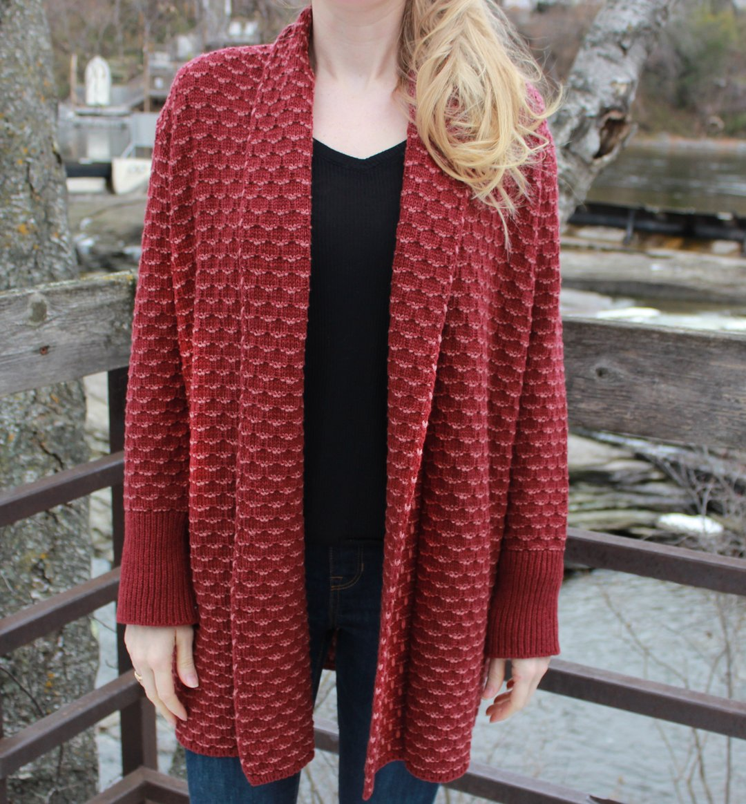 Irelands Eye - Ashford Sweater - Ruby