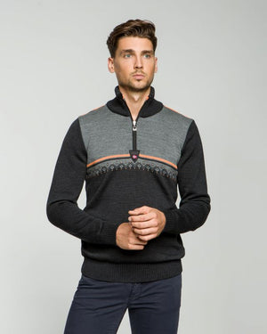 Dale of Norway - Lahti Men's Sweater - Charcoal