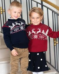 Dale of Norway - Christmas Kids' - Navy