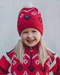 Dale of Norway - Seefeld Kids Hat - Red