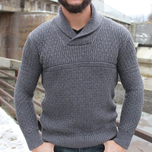 Irelands Eye - Fanore Sweater - Charcoal