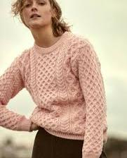 Irelands Eye - Blacket Aran Sweater