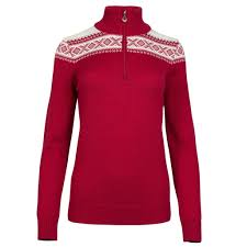 Dale of Norway - Cortina Merino Women's Sweater - Red