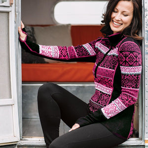 Icelandic Design - Hayley Sweater - Berry