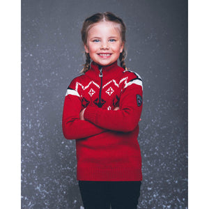 Dale of Norway - Seefeld kids Sweater - Red