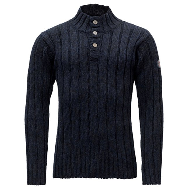 Devold - Nansen Rib Unisex Sweater - Navy