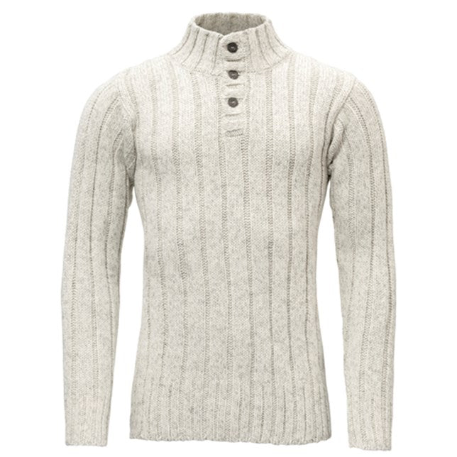 Devold - Nansen Rib Unisex Sweater - Grey