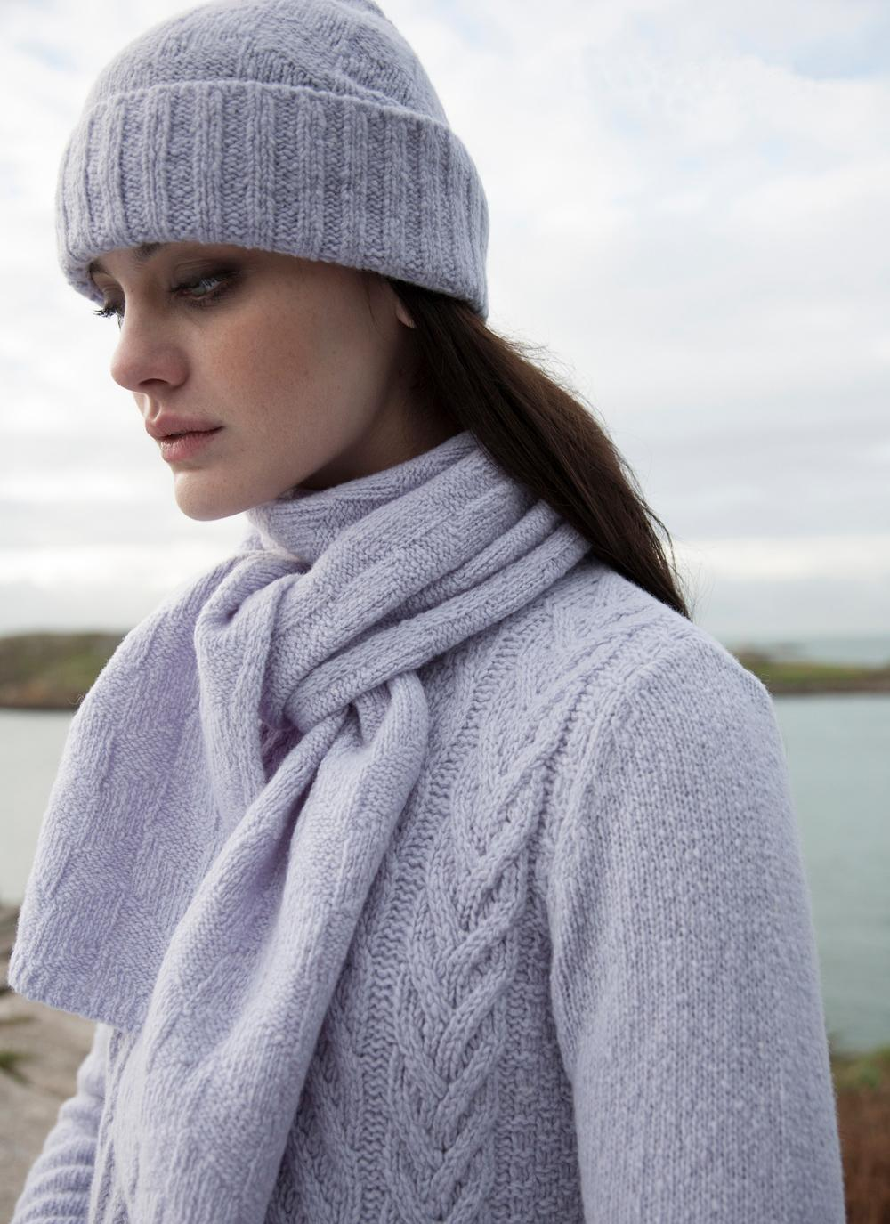 Irelandseye - Diamond Texture Scarf