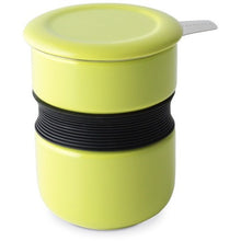 Get a Grip Tea Cup With Infuser & Lid (Multiple colors available) - Shineworthy Tea