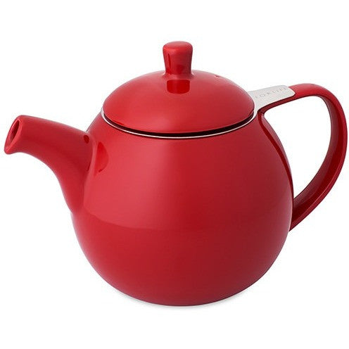 Curve Teapot With Infuser (Multiple colors available) - Shineworthy Tea