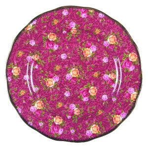 Royal Albert Ruby Lace Salad Plate - Shineworthy Tea